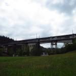 Panorámica de los dos viaductos