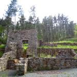 Zona de tratamiento del mineral en el paraje conocido como Mañastegizahar, en la localidad de Mutiloa
