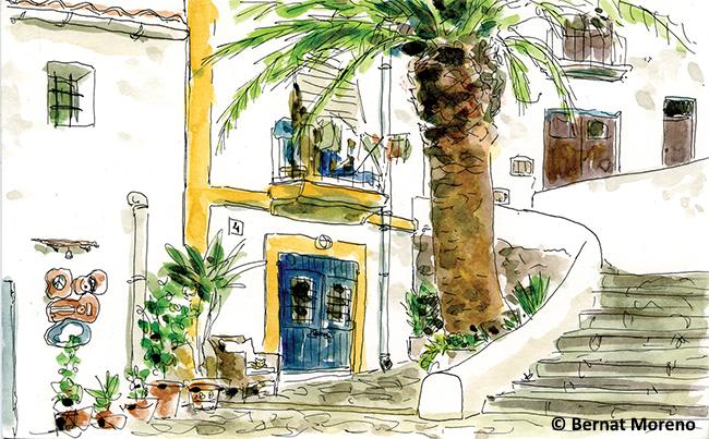 ilustración Ibiza